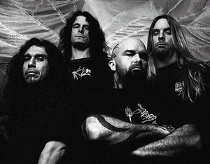 Jeff Hanneman top-right, co-founder of Slayer