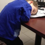 Dad Takes Photos of His Boy Sleeping Everywhere
